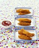 Fried chicken fingers