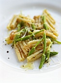 Cavatelli with wild asparagus