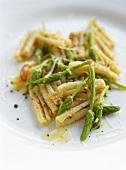 Cavatelli with wild asparagus