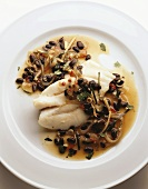 John Dory with black beans and ginger sauce