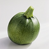 Round courgette 'Eight ball F1 hybrid'