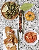 Italian appetisers