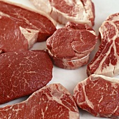 Various types of meat