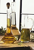Various types of oil