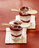 Layered dessert à la Tiramisu