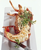 Fried langouste