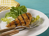 Grilled chicken breast with sherry