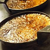 Crema catalana in small pan