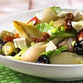 Mediterranean chicory dish