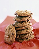 Walnut and fig cookies