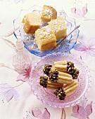 Tulumba tatlisi and yogurt tatlisi (Turkish desserts)