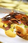 Crayfish, chestnuts & biltong (Paarl, S. Africa)