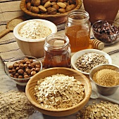 Wholefood baking ingredients