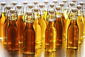 Several bottles of walnut oil and hazelnut oil