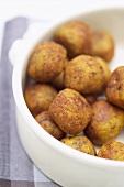 Felafel (Chick-pea balls)