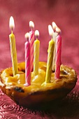 Pasteis de nata (custard tart, Portugal) for birthday