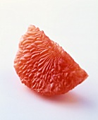 A segment of grapefruit