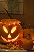 Halloween decoration: pumpkin lantern