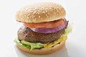 Burger mit Portobello-Pilz