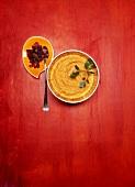 Mashed potato with saffron