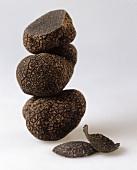 Tower of black truffles