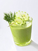 Cucumber buttermilk drink