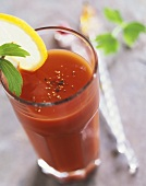 Virgin Mary (non-alcoholic tomato juice cocktail)
