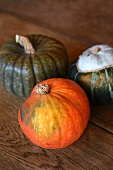 Three squashes