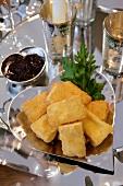 Gebackener Camembert mit Cranberrysauce