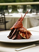 Surf and Turf (Lobster on beef fillet, USA)