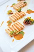 Carrot and parsnip terrine (Molecular cuisine)