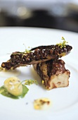 Octopus with fennel and watercress