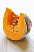 A slice of pumpkin