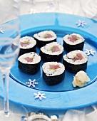 Tekka maki (Tuna maki sushi)