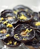 Portobello mushrooms with garlic