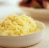 Mashed potato and celery