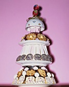 A tower of confectionery