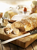 Pane rustico casereccio (Rustic Italian bread)