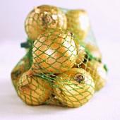 Onions in a net