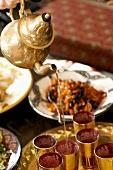 Pouring tea (Morocco)