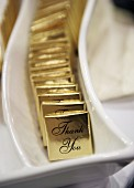 Chocolate thins to say 'Thank you'