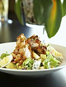 Cobb salad (Salad with roast chicken breast, America)