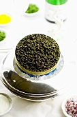 Caviar in the tin