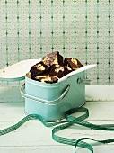 Brownies in a tin
