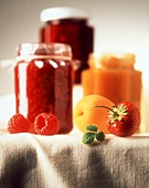 Raspberry and Apricot Jam