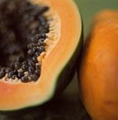 Half of a Papaya, Close Up