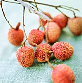Several Lychee Fruit