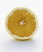 A White Grapefruit Half