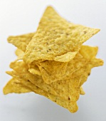 A Stack of Corn Chips