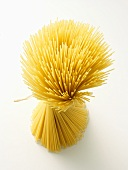 Uncooked Spaghetti Tied with a String